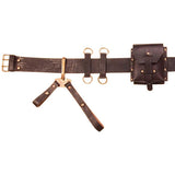 Archangel™ Steampunk Leather Utility Belt