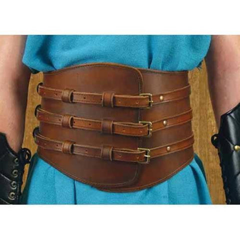 Roman Gladiator Kidney Belt - Costumes and Collectibles