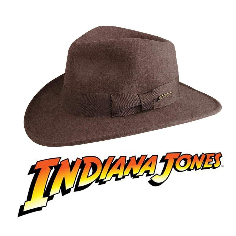 Official Indiana Jones Fedora Hat - Costumes and Collectibles df65296404c9