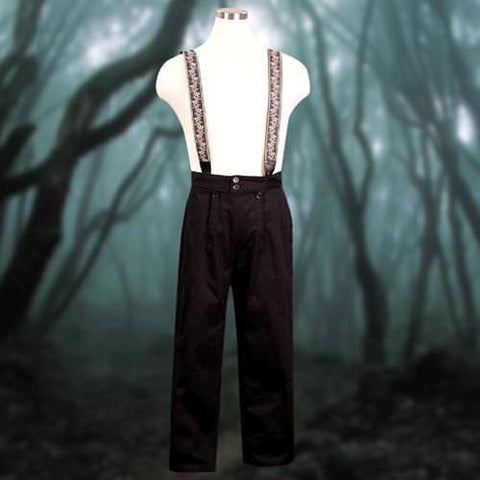 Clockwork Pants with Suspenders - costumesandcollectibles