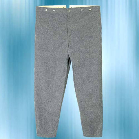 Confederate Enlisted Men's Gray Trousers