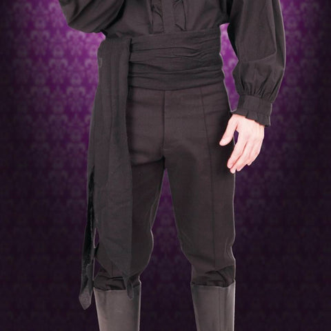 Don Juan Black Sash - costumesandcollectibles