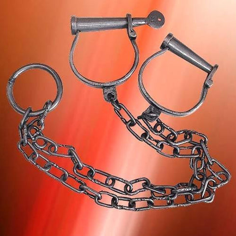 Leg Irons - Costumes and Collectibles