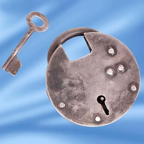 Medieval Padlock, Medium - Costumes and Collectibles