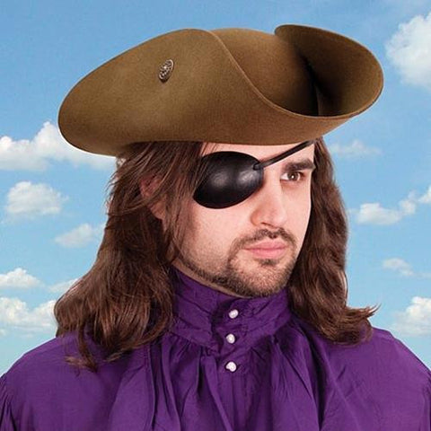 Leather Eye Patch - Right Eye