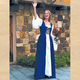 Fair Maiden's Dress Blue - Costumes and Collectibles