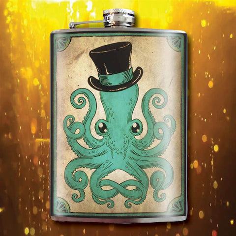 Gentleman Octopus Flask - costumesandcollectibles