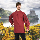 period festival shirt red