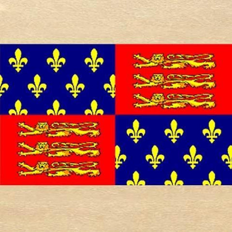King Edward III Flag - Costumes and Collectibles