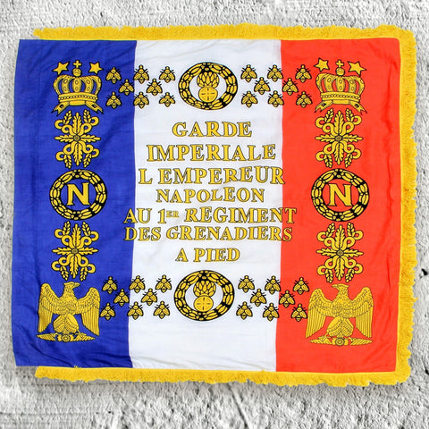 Napoleonic 1st Regiment Grenadier Flag