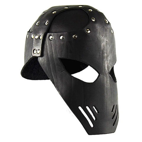 Leather Executioner Helmet