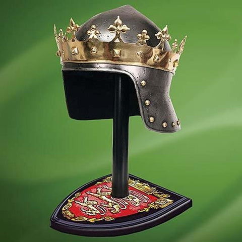 Richard The Lionheart Helmet with Stand