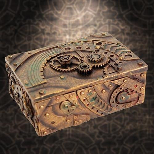 steampunk trinket box costumes and collectibles