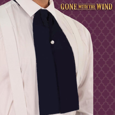 Gone With The Wind Barbecue Ascot - Licensed Rhett Butler Costume - costumesandcollectibles