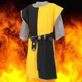 Yellow knightly tabard