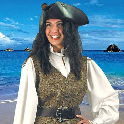 Mary Read Pirate Vest - costumesandcollectibles