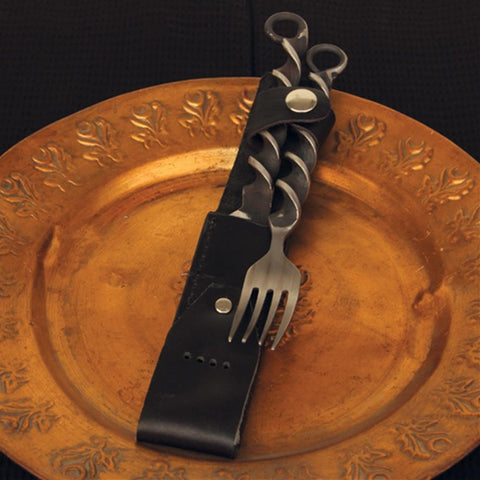 Medieval Fork and Knife