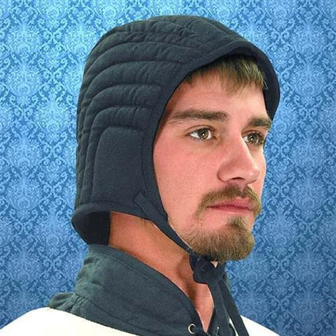 Arming Cap, Quilted - costumesandcollectibles