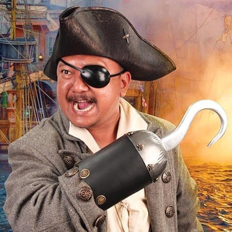 Authentic Pirate Hook - Costumes and Collectibles