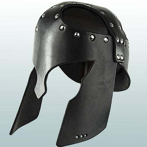 Greek Leather Helmet - costumesandcollectibles