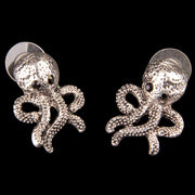 Octopus Stud Earrings - costumesandcollectibles