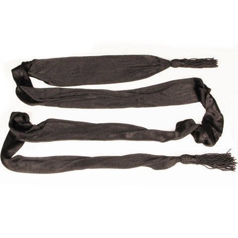 Officer's Silk Sash - Black