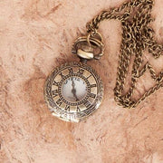 Open Face Locket Pocket Watch