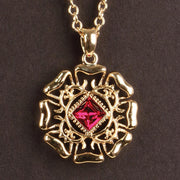 Anne of Cleves Tudor Rose Pendants