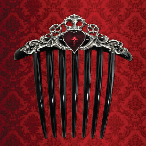 Claddagh Hair Comb - costumesandcollectibles
