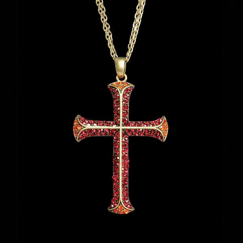 Cross of the Crusades Necklace - costumesandcollectibles