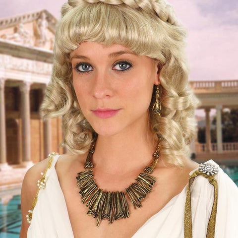 Helen of Troy Necklace & Earrings