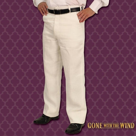 'Gone With The Wind' Plantation Pants - Licensed Rhett Butler Costume - costumesandcollectibles
