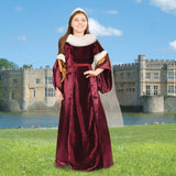 Queen Guinevere Gown for Youth - Costumes and Collectibles