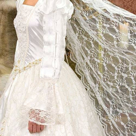 Wedding Gown Veil Renaissance Costume Costumes And Collectibles