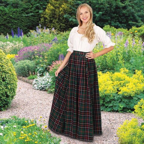 Scottish Plaid Skirt