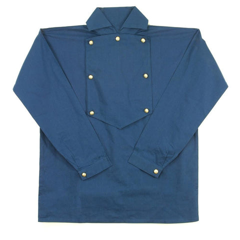 Cotton Cavalry Shirt - Blue
