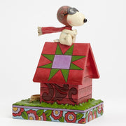 Jim Shore Peanuts Snoopy Flying Ace