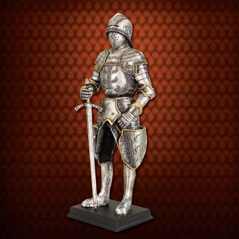 Gothic Armor Knight Statue - Costumes and Collectibles