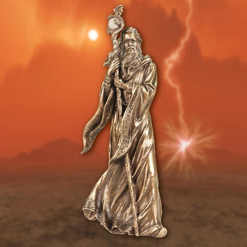 Merlin the Magician Statue - Costumes and Collectibles