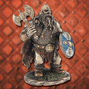 Shorty Viking with Axe Statue - Costumes and Collectibles