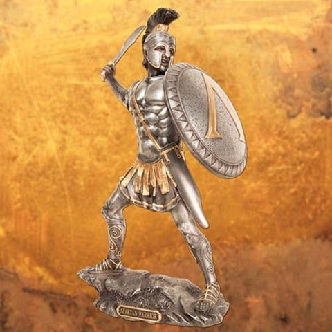 Spartan King Statue - Costumes and Collectibles