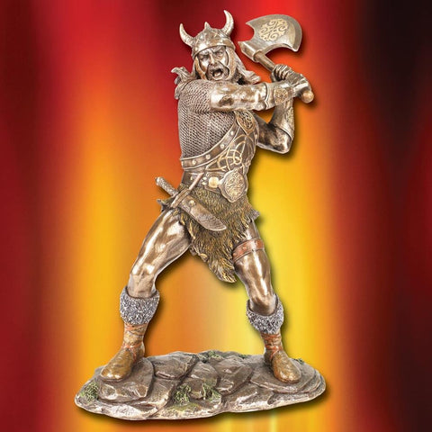 Viking Raider Statue