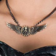 Steampunk Winged Octopus Necklace - Costumes and Collectibles