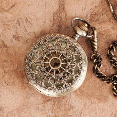 Victorian Web Pocket Watch - Costumes and Collectibles