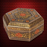 Viking Trinket Box Hexagonal