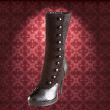 Splendor Boots - Victorian high boots for Women: Black