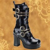 Gothika Steampunk Boots - costumesandcollectibles
