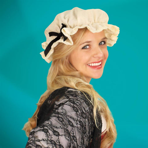 Mob Cap Bonnet - costumesandcollectibles