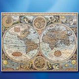 World of 1626 Canvas Print - costumesandcollectibles