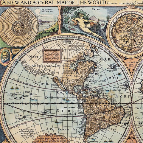 World of 1626 Canvas Print - Costumes and Collectibles